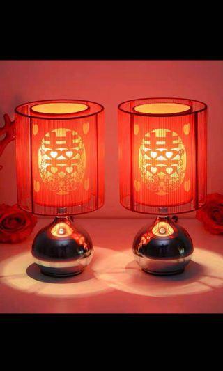Wedding lamps 床头灯 fragrance lamp / Chinese wedding