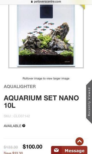 Aqualighter nano 10L