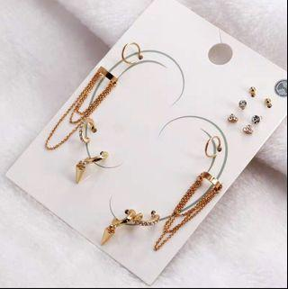 🚚 Earrings- set of 7