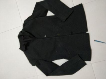 Office black blazer x 2