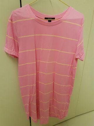F21 Pink T Shirt Dress