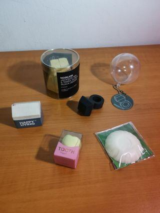 [MOVING SALE] Eraser Collection