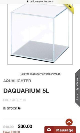 🚚 Aqualighter 5L tank