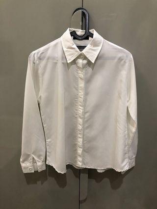 Kemeja Putih wanita kemeja kerja baju kerja