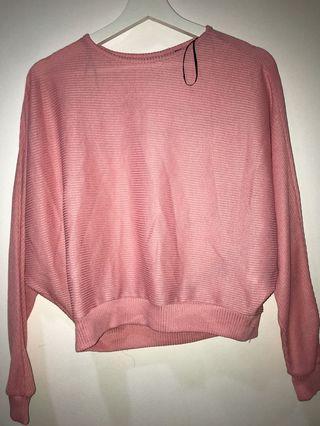 Pink H&M sweater