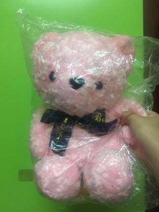 粉紅泰迪熊(約30cm)