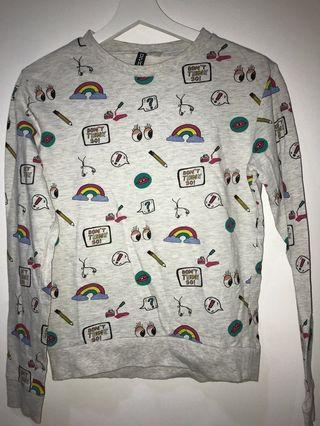 Colorful H&M sweater