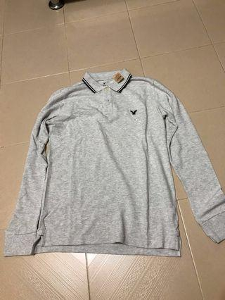 🚚 Brand New American Eagle Long Sleeve Polo