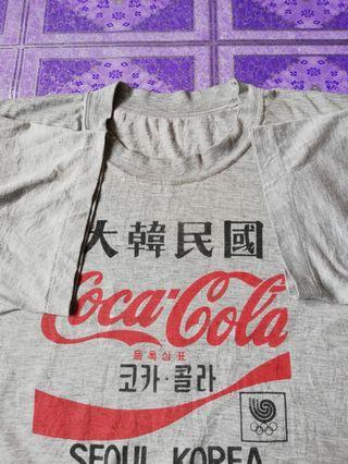 T shirt Coca cola