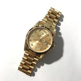 Rolex 18238 Oyster Perpetual Day Date Watch