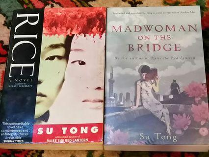 Mad Woman on The Bridge & Rice by Su Tong