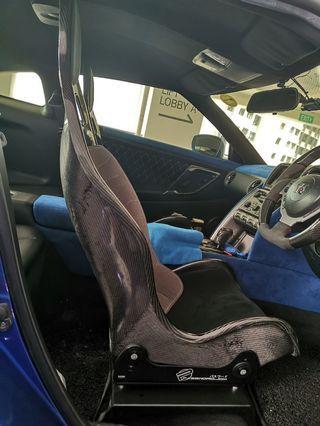 GTR Carbon fibre carseat