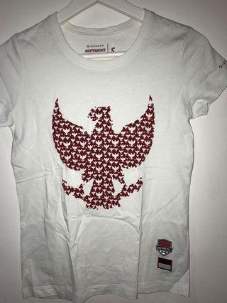 Exclusive Giordano T-shirt edisi Hari Kemerdekaan