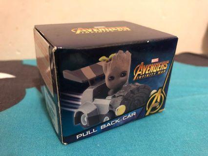 Marvel Avengers infinity War Pull Back Car - Groot