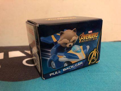 Marvel Avengers Infinity War Pull Back Car - Rocket