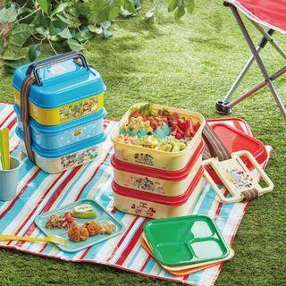 (預訂)迪士尼 三層食物盒