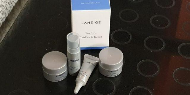 New Laneige Time Freeze:- Essence Ex or Eye Serum or Intensive Cream Ex or Firming Sleeping Mask