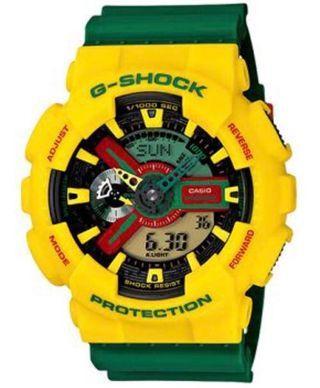 G-shock黃樂高錶 雷鬼 極新 附鐵盒吊牌