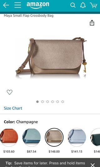 🚚 Fossil crossbody bag bought from US
