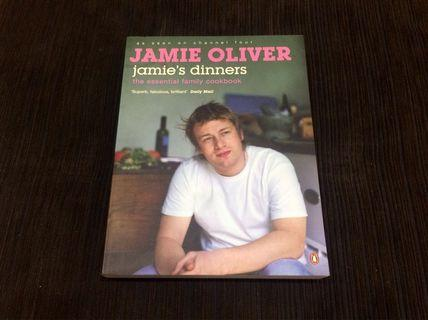"""Cheap! JAMIE OLIVER Cookbook: """"Jamie's Dinners"""" (By Penguin Books)"""