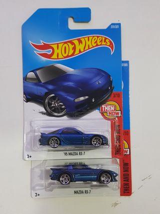 Hot Wheels Mazda RX7 Set