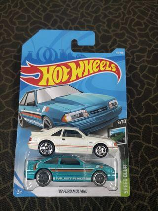 Hotwheels Ford mustang evo RLC premium car culture