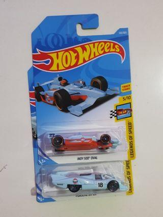 Hot Wheels Gulf set of 2