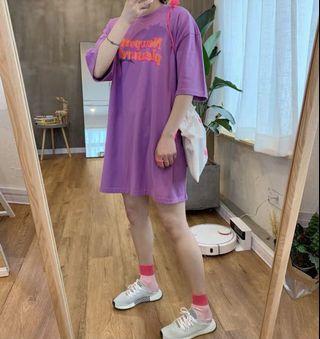 韓國T-shirt $298 One size 胸圍 130cm 衣長 82cm