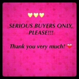 Please serious buyer only !