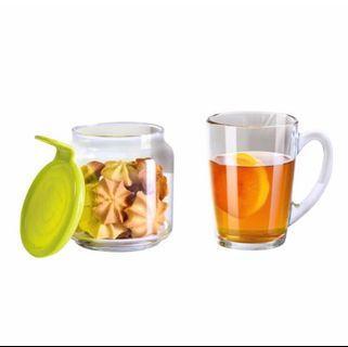 Glass Afternoon Tea Set