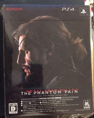 Metal Gear Solid V TPP special edition 日版