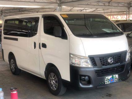 Your Family Van 2016 Nissan Urvan NV350 M/T DIESEL only P17T monthly at 30% DP