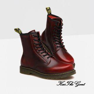 Genuine Leather High Cut Men's Boots