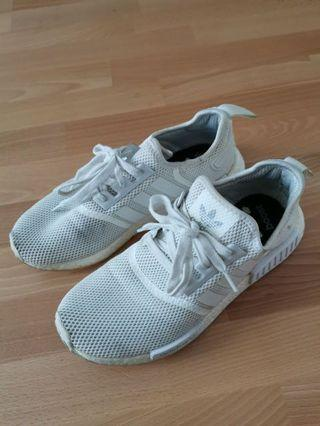 Adidas NMD white sneakers -Mens 白色波鞋 #MTRcwb