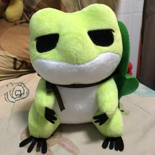旅行蛙毛公仔 Frog Doll