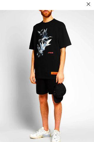 🚚 Heron Preston Black Doves Tee