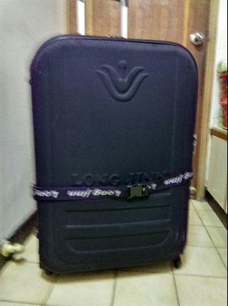 行李箱,深藍色