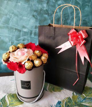 Chocolate Hijabi Bouquet