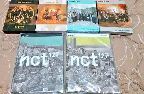 WANNA ONE & NCT album only