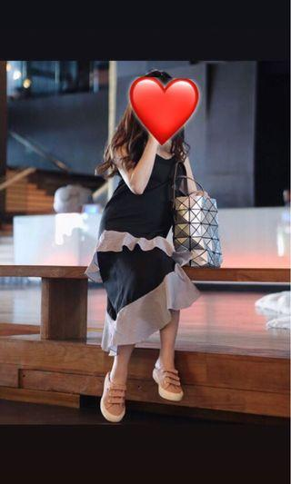 Black style dress