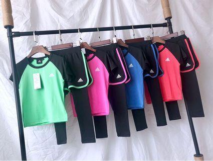 美單Adidas 兒童速乾運動套裝👦🏻👧🏻