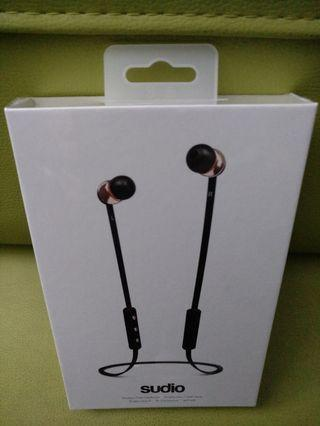 Brand New sealed Sudio witless in-ear earphone's for sale