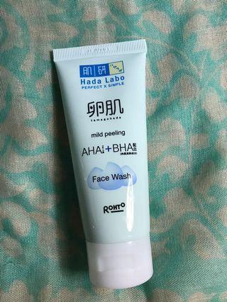 Hada Labo Face Wash Mild Peeling