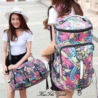 Waterproof Travel Duffel Backpack Ladies