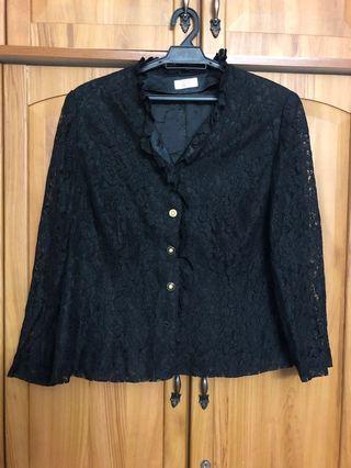 Vintage Lace Jacket / Blouse