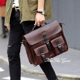 Mens Laptop Messenger Sling Formal Bag Briefcase