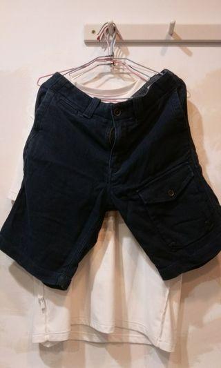 Timberland工作短褲 深藍色