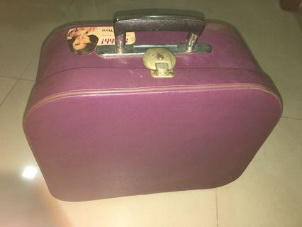 Antique hand held luggage