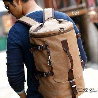 Duffel Travel Backpack Mens Bag