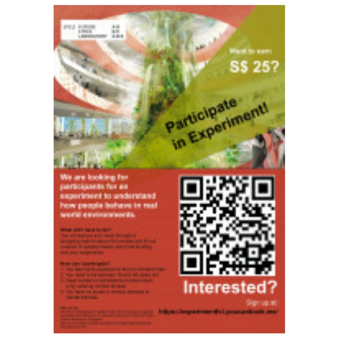 [$25 for 90 Min!] Behavioral Research Participants